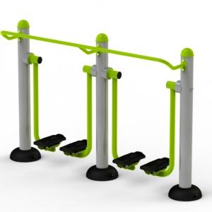 Aparat fitness dublu extensie si mers