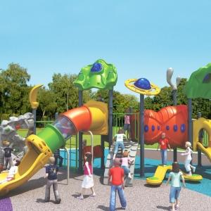 Complexele de joacă de tip Creativ au un design deosebit, culori foarte frumoase care stimuleaza creativitatea copiilor.