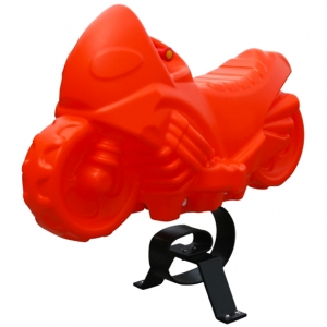 Motocicleta realizata din plastic LLDPE