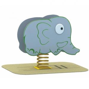 Elefantul jucaus pe arc