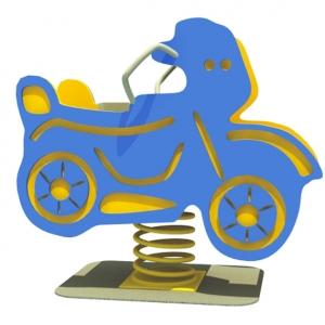 Motocicleta albastra