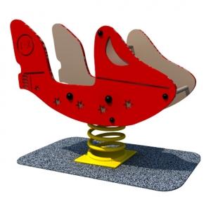 avionul rosu pe arc