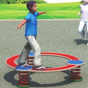 Cercul pentru exersare echilibru