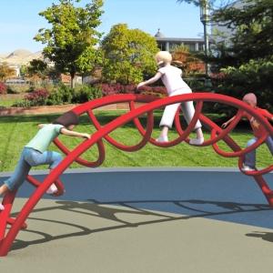Cataratoarea le permite copiilor sa se catere, sa coboare si sa se ascunda, facand joaca o adevara distractie.