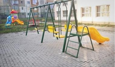 Realizare loc de joacă la Grădinița cu program prelungit numărul 7, Sebeș