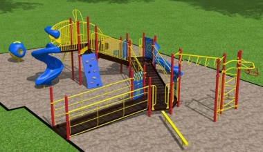 Cum proiectați un teren de joacă pentru școli - sfaturi cheie