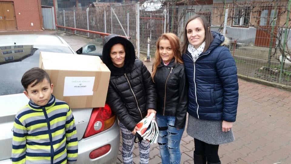Ajutorare familii nevoiase