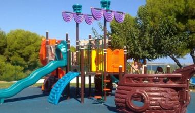 Complexul de joacă pentru copii – Seria Corabia Piraților
