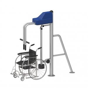 Aparat fitness de înaltă calitate pentru întărirea mușchilor spatelui pentru persoane cu dizabilități