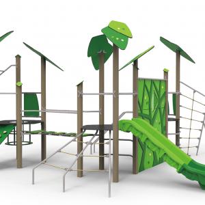 Complex de joaca celula verde