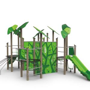 Complex de joaca detectivul verde