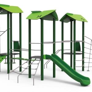 Complex de joacă Fortul verde
