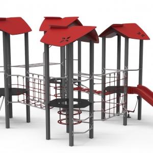 Complex de joaca Fortul rosu