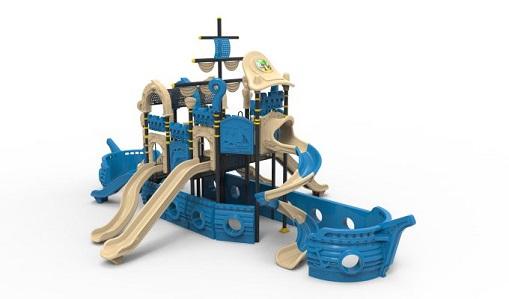 Toboganele din corabie